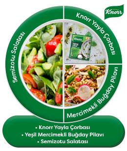 Knorr Sebzeli Çeşni