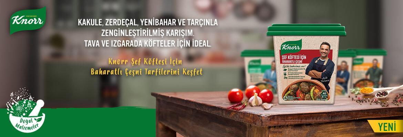 Knorr Şef Köftesi İçin Baharatlı Çeşni