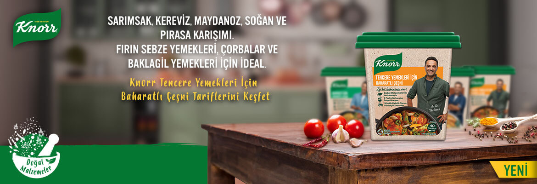 Knorr Tencere Yemekleri İçin Baharatlı Çeşni