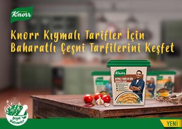 Knorr Kıymalı Tarifler İçin Baharatlı Çeşni