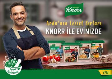 Arda'nın Lezzet Sırları Knorr ile Evinizde