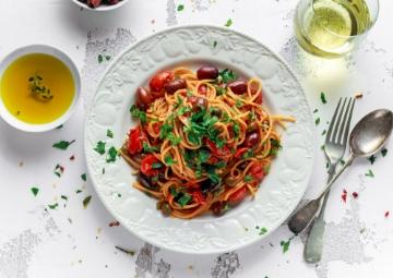Akdeniz Usülü Spaghetti