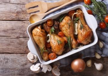 Baharatlı Fırın Tavuk