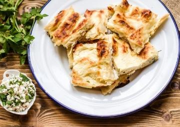 Baklava Yufkalı Peynirli Börek