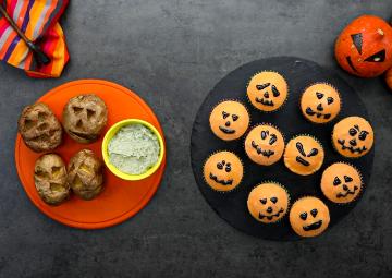 Cadılar Bayramı Tarifleri: Halloween Cupcake & Zombi Patates