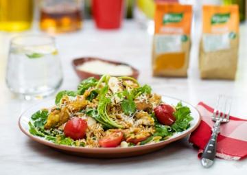 Leziz ve Besleyici: Tavuklu Şehriye Salatası Tarifi