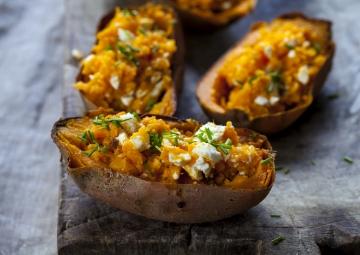 Pratik ve Lezzetli: Fırında Tatlı Patates