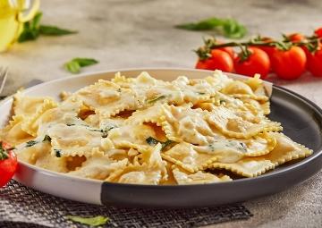 Ravioli Hazırlamanın En Kolay Hali: Peynirli Ravioli Tarifi