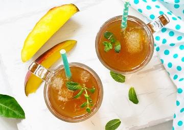 Mango ve Ananas Aromalı: Soğuk Yeşil Çay Tarifi