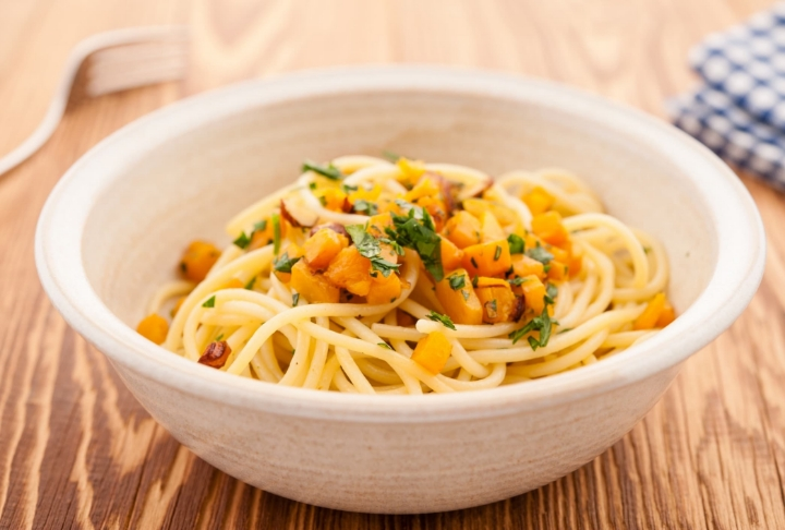 Bal Kabaklı Spaghetti