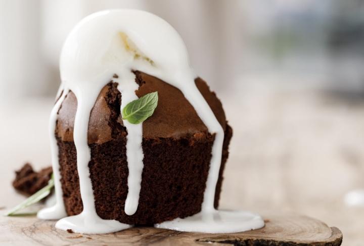 Bitter Çikolatalı Brownie
