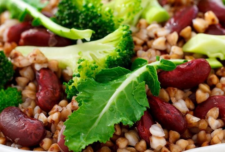 Brokoli ve Kırmızı Fasulyeli Buğday