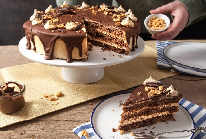 Fıstık Ezmeli Çikolatalı Pasta Tarifi