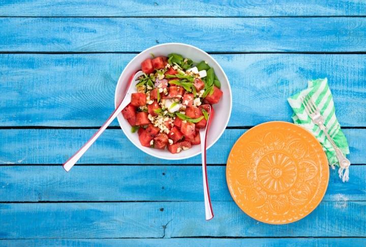 Karpuzlu Ezine Peynirli Semizotu Salatası