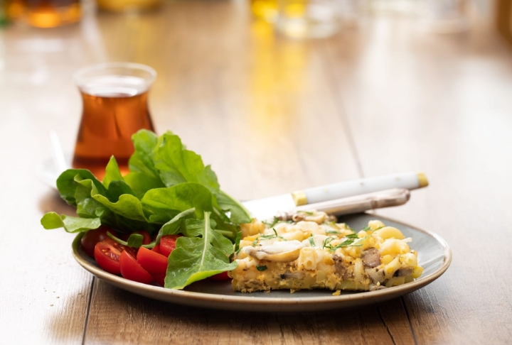 Makarna Omlet