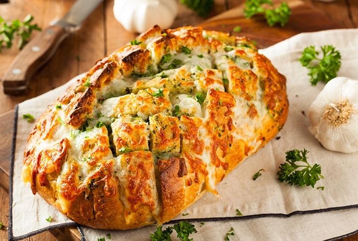 Peynirli Puf Ekmek Tarifi