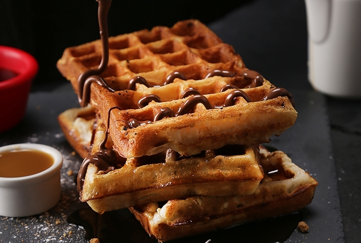 Tek Kişilik Waffle Tarifi