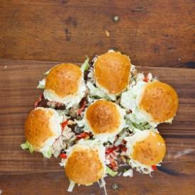 Bol Malzemeli Tavuklu Okula Dönüş Sandviçi