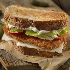 Çıtır Tavuk Sandviç