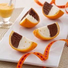 Portakal Diliminde Egzotik Dondurma