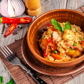 Özel Menülerin Leziz Yemeği: Karidesli Pilav Tarifi