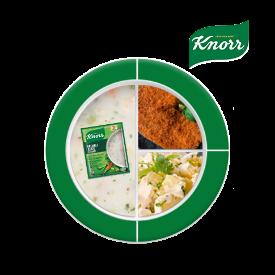 Knorr ile Besleyici Ramazan Tabakları: Taze Soğanlı Kremalı Sebze Çorbası, Et Şinitzel, Patates Salatası