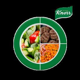 Knorr ile Besleyici Ramazan Tabakları: Kuru Köfte, Nohutlu Bulgur Pilavı, Semizotu Salatası