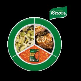 Knorr ile Besleyici Ramazan Tabakları: Çıtır Havuçlu Zencefilli Zerdeçallı Domates Çorbası, Limonlu Tavuk, Kabaklı Pilav