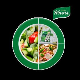 Knorr ile Besleyici Ramazan Tabakları: Knorr Yayla Çorbası ile Ayran Aşı Çorbası, Yeşil Mercimekli Buğday Pilavı, Semizotu Salatası