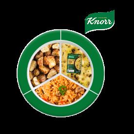 Knorr ile Besleyici Ramazan Tabakları: Knorr Zerdeçallı Mercimekli Yoğurt Çorbası, Fırında Yer Elması, Mantarlı Bulgur Pilavı