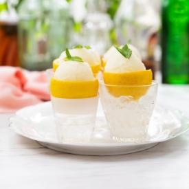 Limon Kabuğunda Limon Sorbe