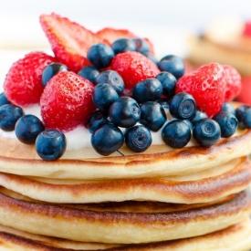 Orman Meyveli Pancake