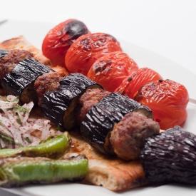 Patlıcanlı Antep Kebabı
