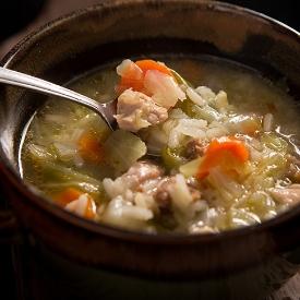 Bereketi İçinde: Pirinçli Tavuk Çorbası Tarifi