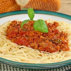 Vegan Spaghetti Bolonez