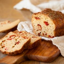 Kurutulmuş Domatesli Ekmek