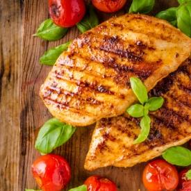 Sebzeli Çeşnili Fırında Tavuk