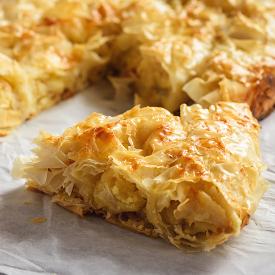 Çıtır Çıtır Hazır Yufkadan: Sodalı Patatesli Börek Tarifi