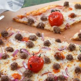 Sumaklı Köfteli Pizza