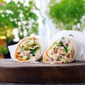 Ton Balıklı Wrap
