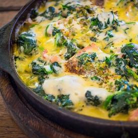 Fırında Harika Olur: Ispanaklı Yumurta Tarifi