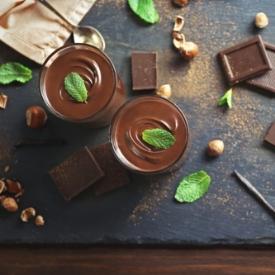 Yumurtasız Çikolatalı Mus
