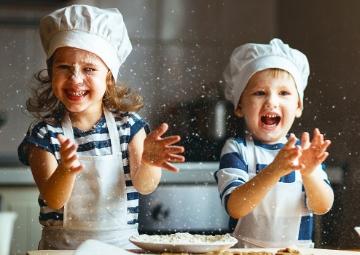 Çocuklarla Beraber Yapılan Yemekler