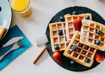 Belçika Asıllı Bir Hamur Tatlısı: Waffle