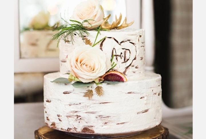 Kış Düğünlerine Layık Enfes Pastalar